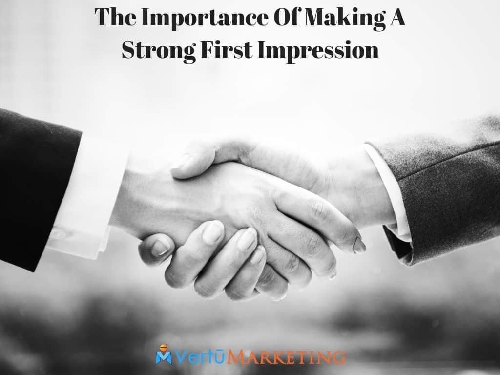 importance of first impressions in dating